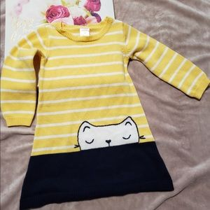 2/$15 Gymboree cat dress size 2T